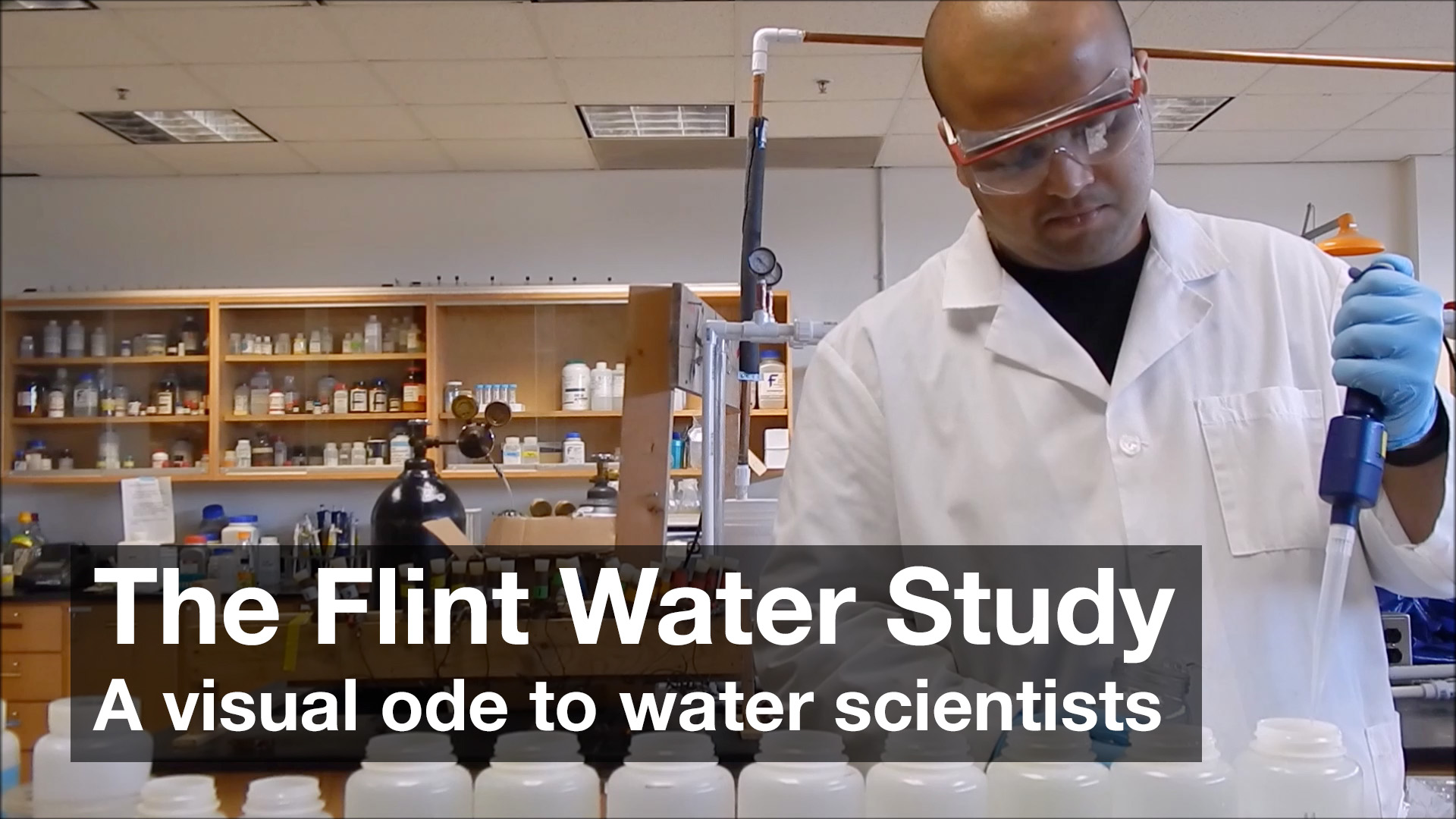 The Flint Water Study: A visual ode to water scientists